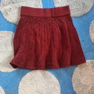 Hollister Cable Knit Skirt (Nwto)